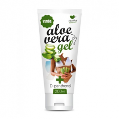 Aloe Vera Gel mit D-Panthenol, 200 ml