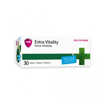 Extra Vitality, 30 Tabletten – Multivitamin-Tabletten